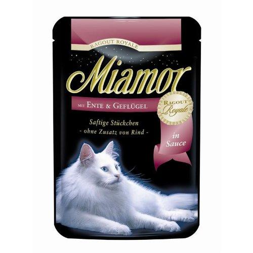 Miamor Ragout Ente & Geflügel | 22x 100g Katzenfutter